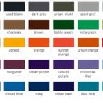 Farben B04E B&C T-Shirts