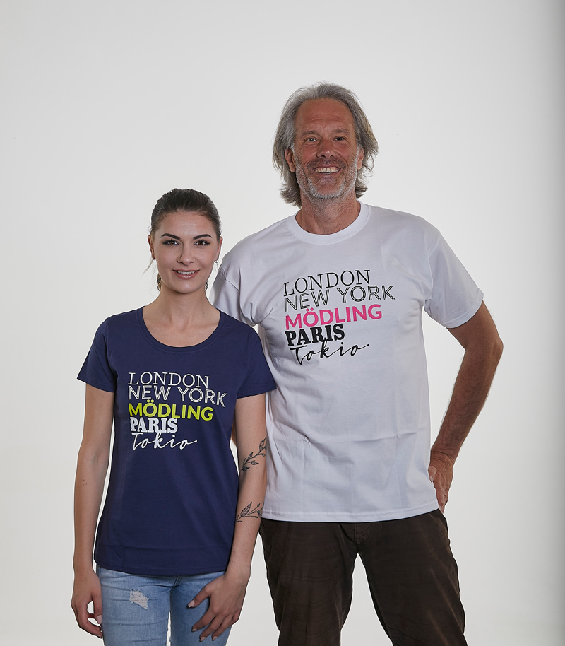 T-Shirt Stolzes Mödling